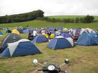 wigtown campsite